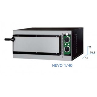 HORNO PIZZA 1 Y 2 PISOS PIZZA DE 40 CM ELECTRICO