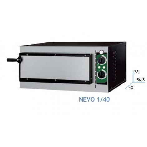 ELECTRIC PIZZA OVEN NEVO LINE 40 ECO