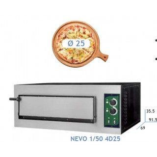 ELECTRIC PIZZA OVEN NEVO LINE 1/50 & 2/50 4D25