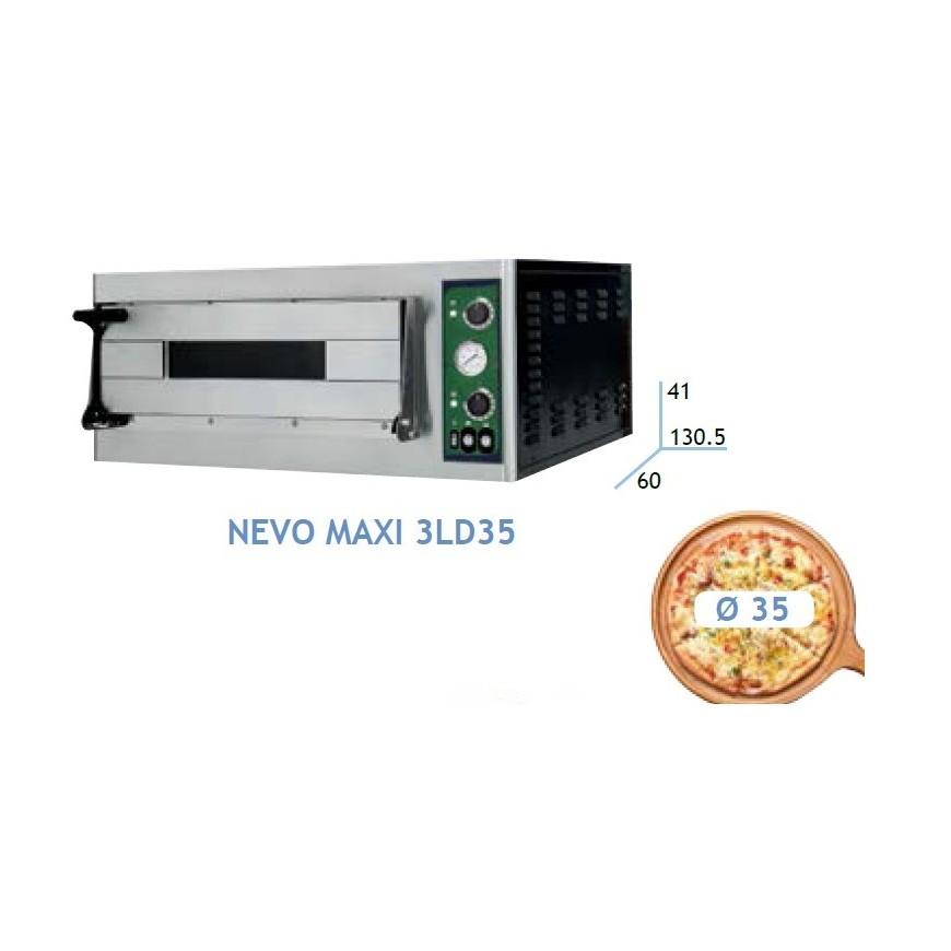ELECTRIC PIZZA OVEN NEVO MAXI LINE 3LD35