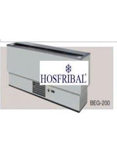 ENFRIADOR DE BOTELLAS EN ACERO PLASTIFICADO DE 2.005X540X835 MM.