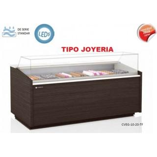 VITRINA PASTELERA EXPOSITORA TIPO JOYERIA CORECO SERIE 10