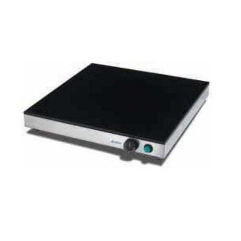 PLACA CALIENTE CRISTAL TEMPLADO SOBREMESA 500X500X80 mm