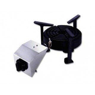 PAELLERO PROFESIONAL A GAS. DIMENSIONES 623X355X230 MM.