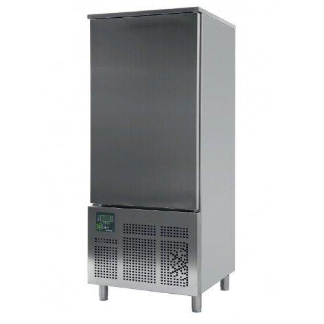 Abatidor de Temperatura Mixto 16 bandejas GN1/1 y 600x400 mm de 790 x800 x1950h mm