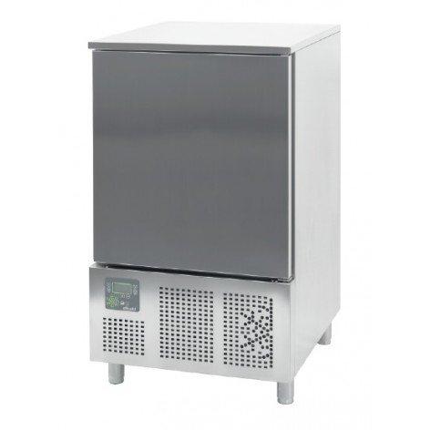 Abatidor de Temperatura Mixto 10 bandejas GN1/1 y 600x400 mm de 790 x800 x1420h mm