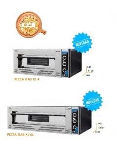 HORNO ADLER PIZZA GAS XL 4/6/9 PIZZAS DE 35