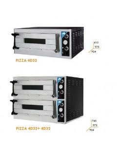 HORNO ADLER SERIE PIZZA 1 Y 2 PISOS PIZZA DE 32 CM ELECTRICO