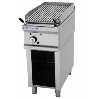 BARBACOA A GAS MODULAR CON MUEBLE DE 400X750X900 MM. ...