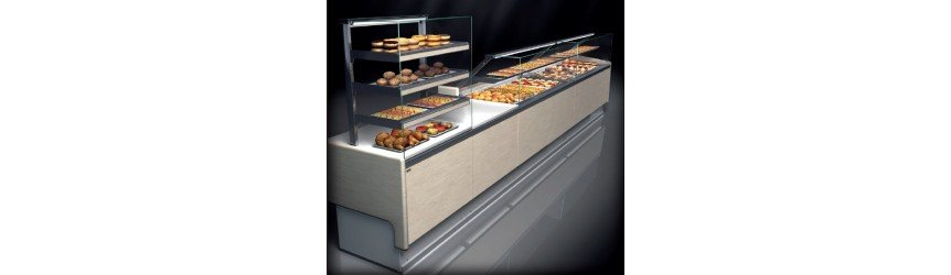 CABINETS, WALL DISPLAY REFRIGERATED CABINET