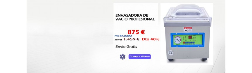 ENVASADORAS AL VACIO