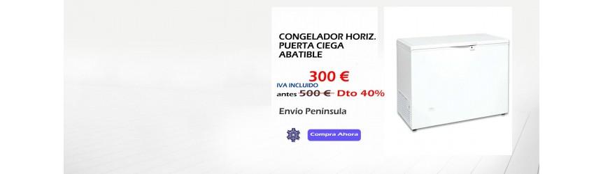 CONGELADOR HORIZONTAL TAPA CRIST